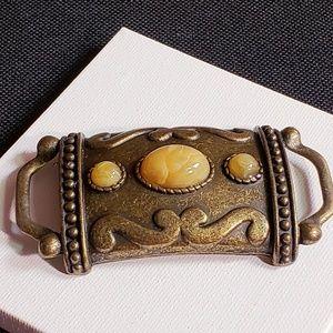 Vintage belt or bracelet part